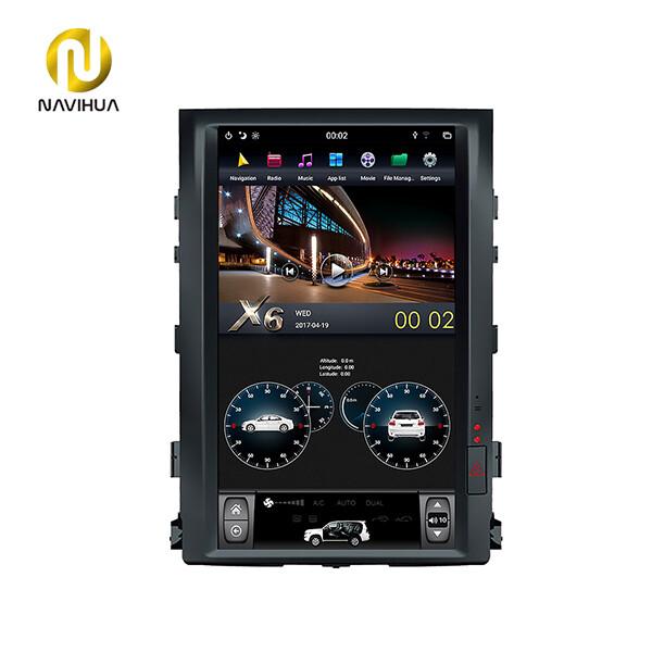 16 inch Navi Toyota Land Cruiser android car stereo tesla radio(Screen dashboard)