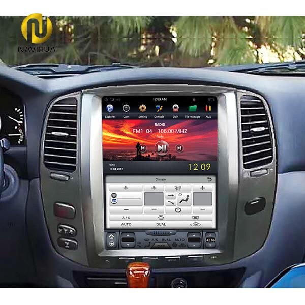"12.1"" inch Toyota Land Cruiser stereo radio( digital dashboard)"
