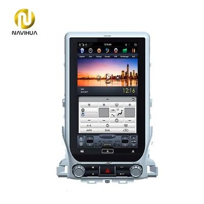 13.6 inch toyota Land Cruiser 200 android car tesla stereo radio(Screen dashboard)