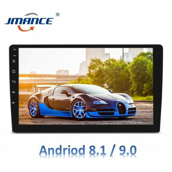 Universal 10 inch android 9 2din car dvd player for apple iphone wireless carplay