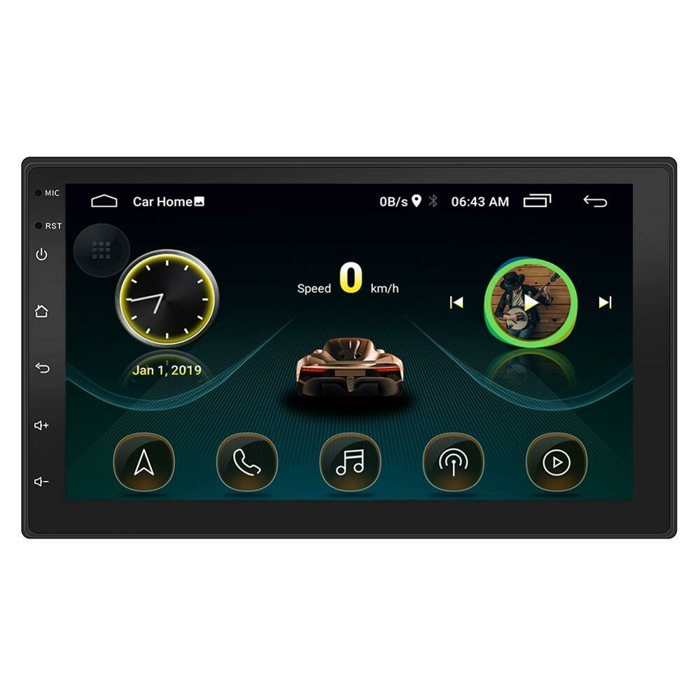 7 inch Android Universal Car Radio GPS Navigation Bluetooth full touch screen