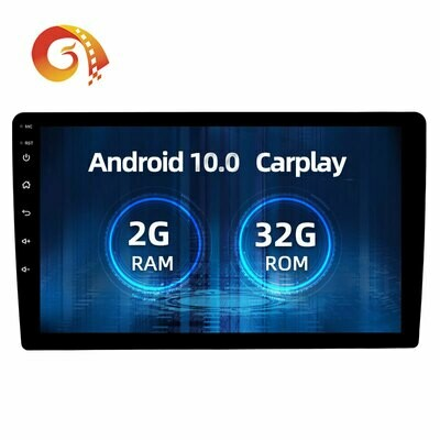 Universal 10 inch android 10 2din car dvd player for apple iphone wireless carplay