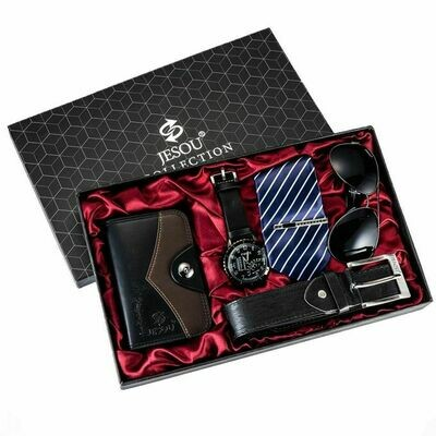 Black-Red background Luxury Men gift set