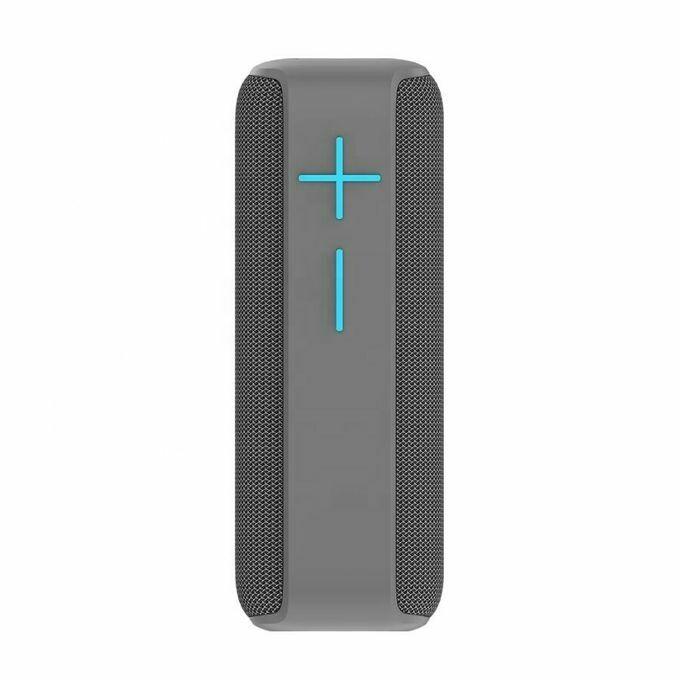 HOPESTAR P15 Grey Bluetooth speaker super bass subwoofer Portable wireless loudspeaker stereo Outdoor waterproof gift