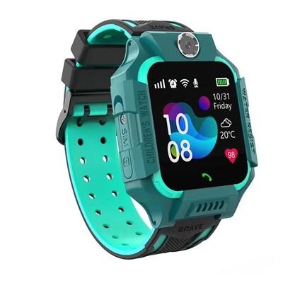 Kids GPS Tracker Smart Watch (Blue)