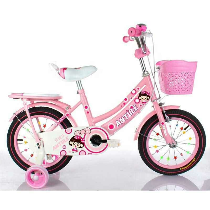 """14"""" Inch Factory Supply Kid's Bicycle - Pink"""