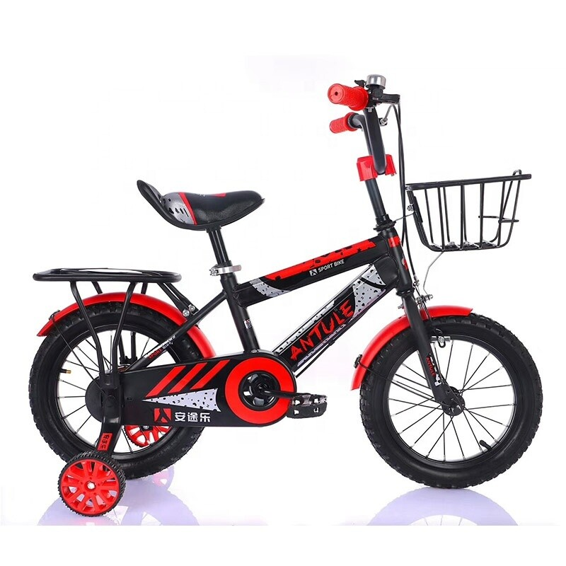 High quality kids bicycle bike for kids aluminum alloy (red)