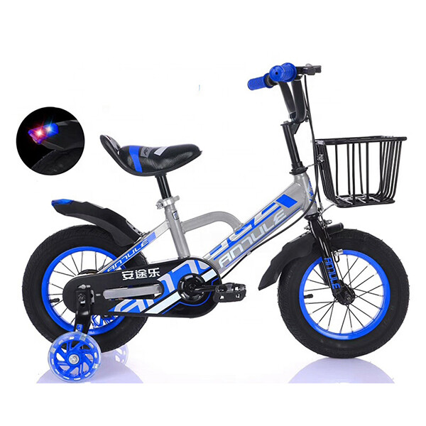 High quality kids bicycle bike for kids aluminum alloy (blue)