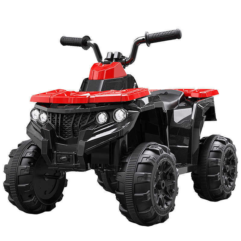 Children's four-wheel electric ride on toy car (Red)