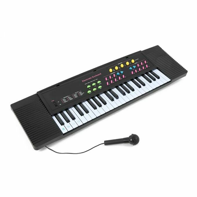Children 44-key Middle Electronic Keyboard with Microphone