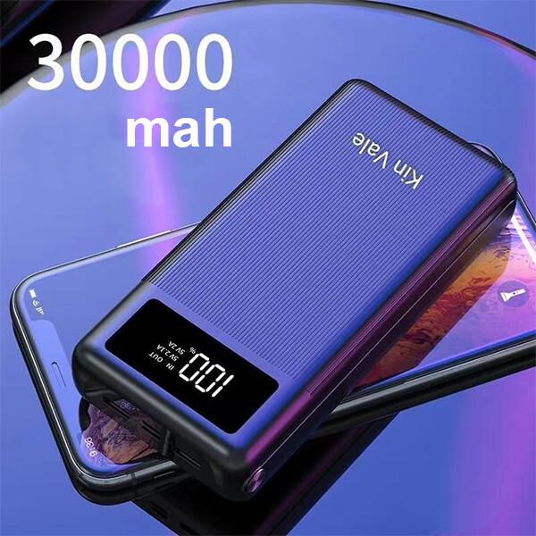 Kin Vale smart power bank 30000Mah (black)