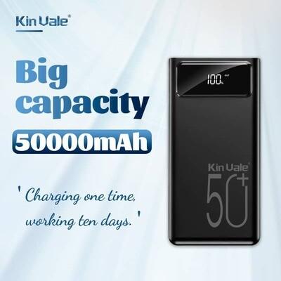 Kin Vale smart power bank 50000Mah (black)