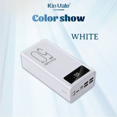 Kin Vale smart power bank 50000Mah (white)
