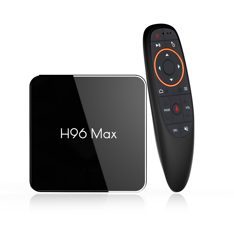 2020 Android 9.0 TV Box H96 MAX X2 Amlogic S905X2 Quad Core 4GB RAM 64GB ROM Support BT4.0