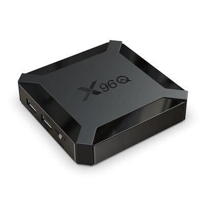 4k X96 smart box tv android 10 Allwinner H313 2gb 16gb tv box x96q