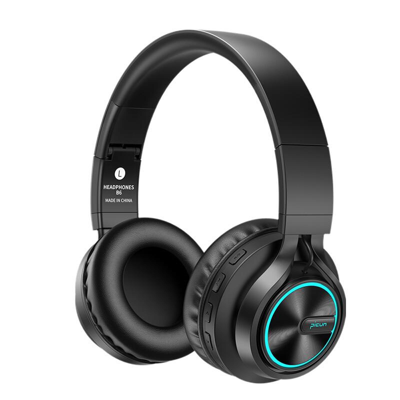 Picun B6 TF Card Bluetooth Headphone