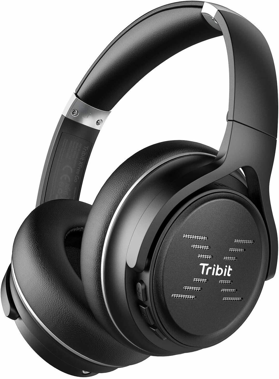Tribit XFree Go Bluetooth Headphone 24H Playtime HiFi Sound headset with Deep Bass