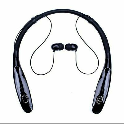 High quality neck Hanging wireless Bluetooth Earphone stereo headset wholesale sports headset
