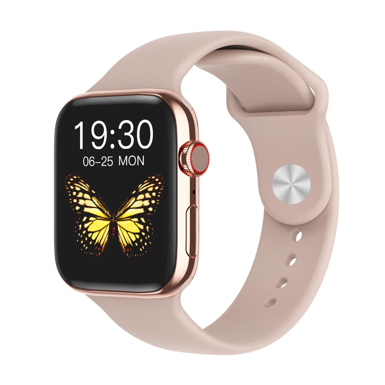 DW35 pro smartwatch full screen touch (Pink) women gift
