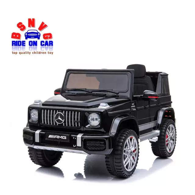 G55 AMG Mercedes Benz kids electric ride on toy car supports remote control / manual driving