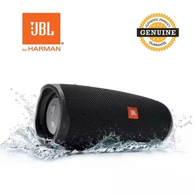 JBL Charge 4 - Waterproof Portable Bluetooth Speaker - Black