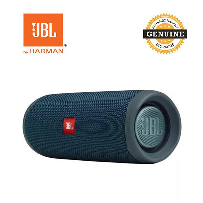JBL Flip 5 - (Latest Model) 20W Waterproof Portable Bluetooth Speaker - Blue