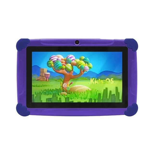 Wintouch New Arrival 4GB 8GB Toy Children Kids Android Rugged Learning Tablet 7inch - Purple