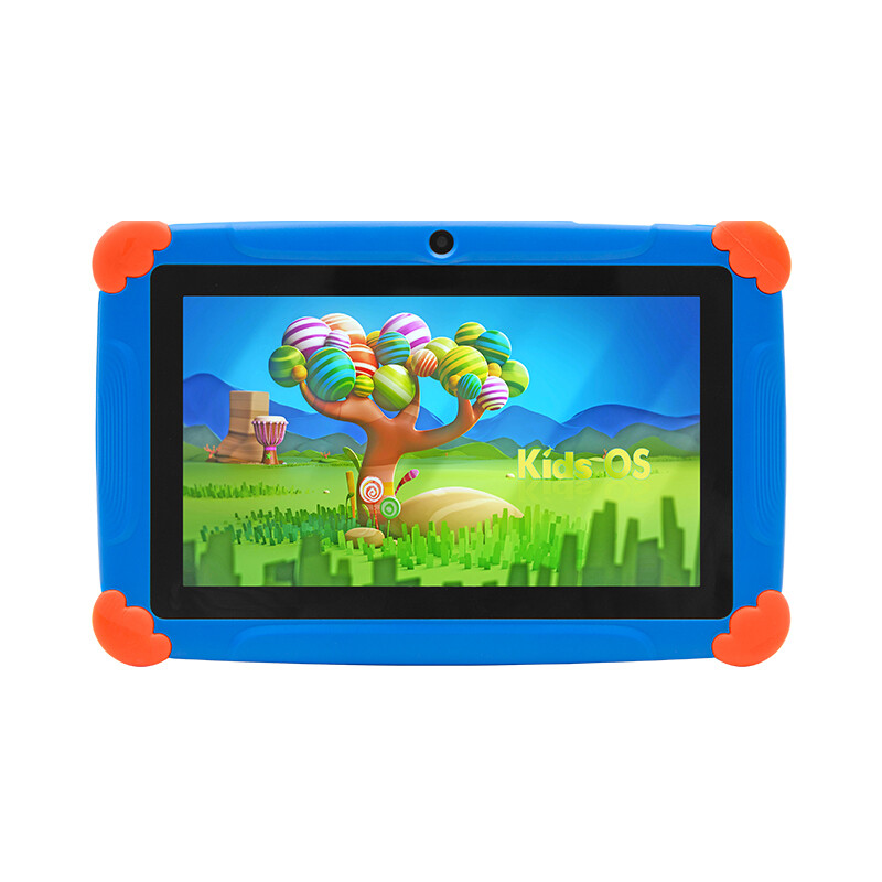 Wintouch New Arrival 4GB 8GB Toy Children Kids Android Rugged Learning Tablet 7inch - Blue