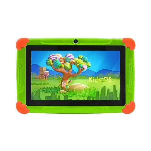 Wintouch New Arrival 4GB 8GB Toy Children Kids Android Rugged Learning Tablet 7inch - Green