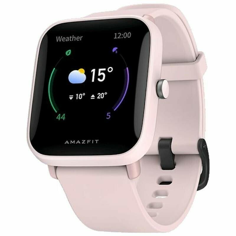 Amazfit Bip U Health Fitness Smartwatch - Pink
