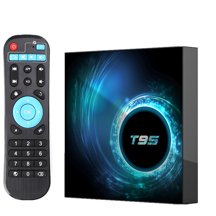 T95 Android 10.0 tv box Allwinner H616 4GB 32GB 64GB Wifi IPTV Smart Android