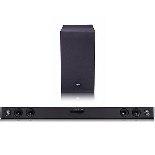 LG SJ3 2.1Ch 300W Sound Bar with Wireless Subwoofer