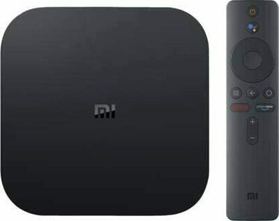 Mi Box 4K Streaming Player (Ultra HD, Android 9.0, Google Assistant, Black)