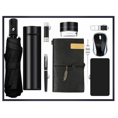 High end gift set corporate luxury gift-Black