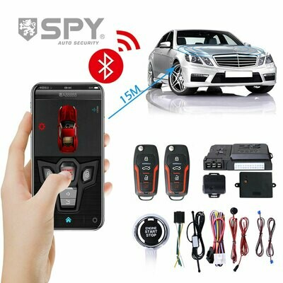 SPY New Arrival Manufacturer Supply Wireless lcd screen one way car alarm