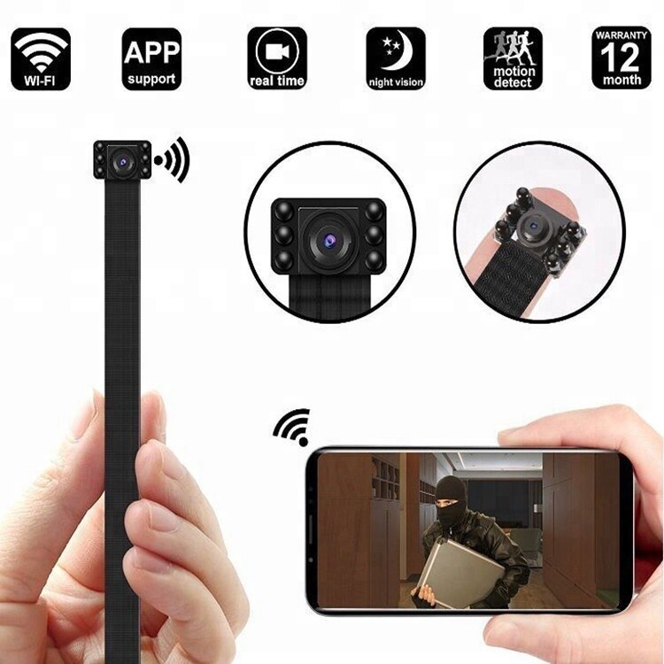 3MP Spy Camera Hidden WIFI HD Infrared Night Vision Surveillance Camera APP Wireless Video Monitoring Module