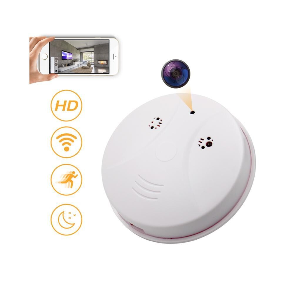 Wifi 1080P Smoke Detector-SD02