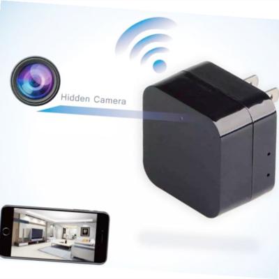Mini Wireless Usb Wall Plug Socket Wifi IP Hidden Spy Camera Charger