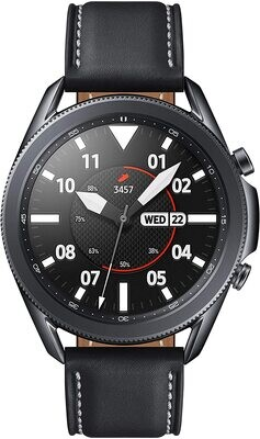 SAMSUNG Galaxy Watch 3 with Advanced Health Monitoring, Fitness Tracking, and Long lasting Battery - Black
