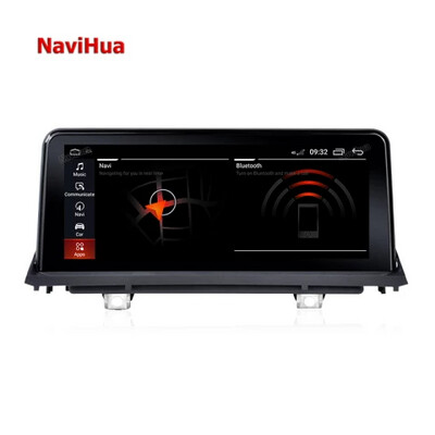 Navihua 10.25 inch Touch screen Android for BMW X5/X6 2007-2010 Car dvd player