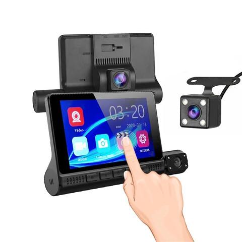 4inch Touch Screen 1080P Full HD Dash Camera DVR