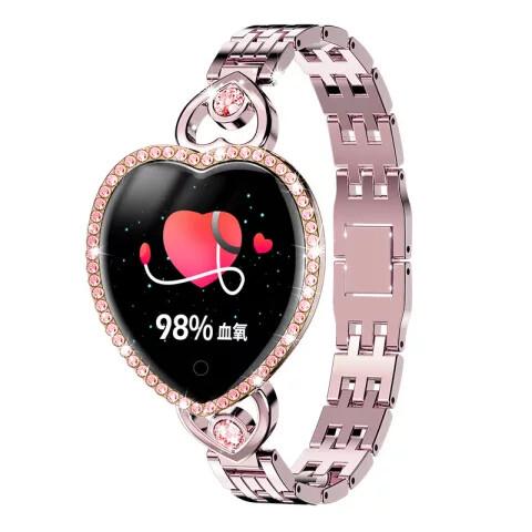 Women T52S smart watch women gift - Gold