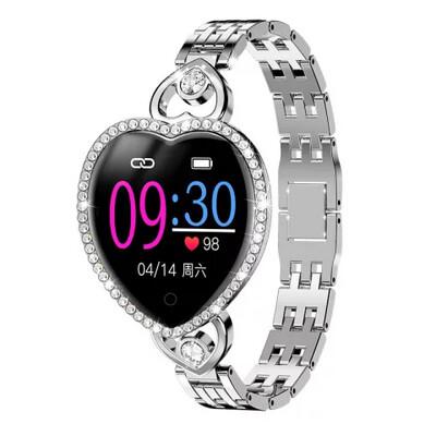 Women T52S smart watch women gift - Silver