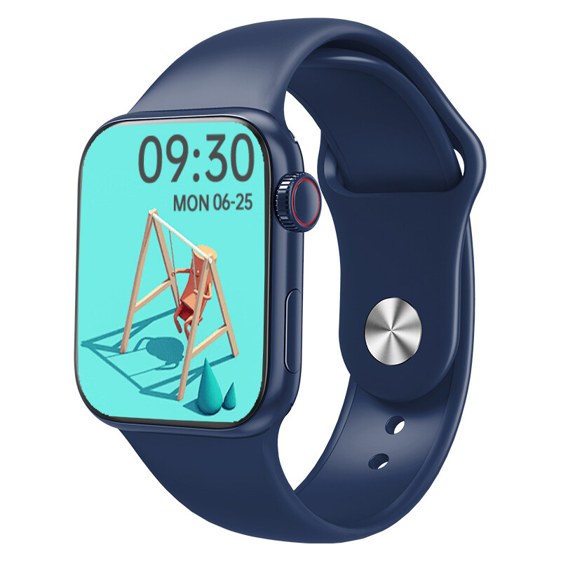 DW35 pro smartwatch full screen touch (blue) men gift
