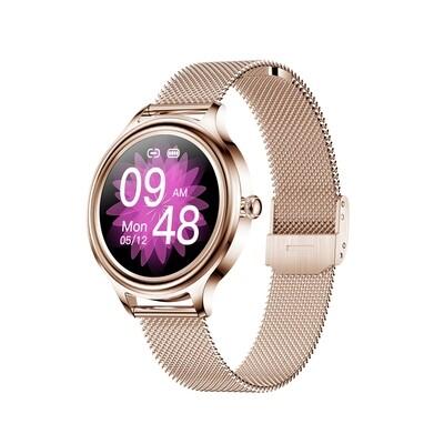 KMO5 Trendy Smart Watch for Women (Gold)