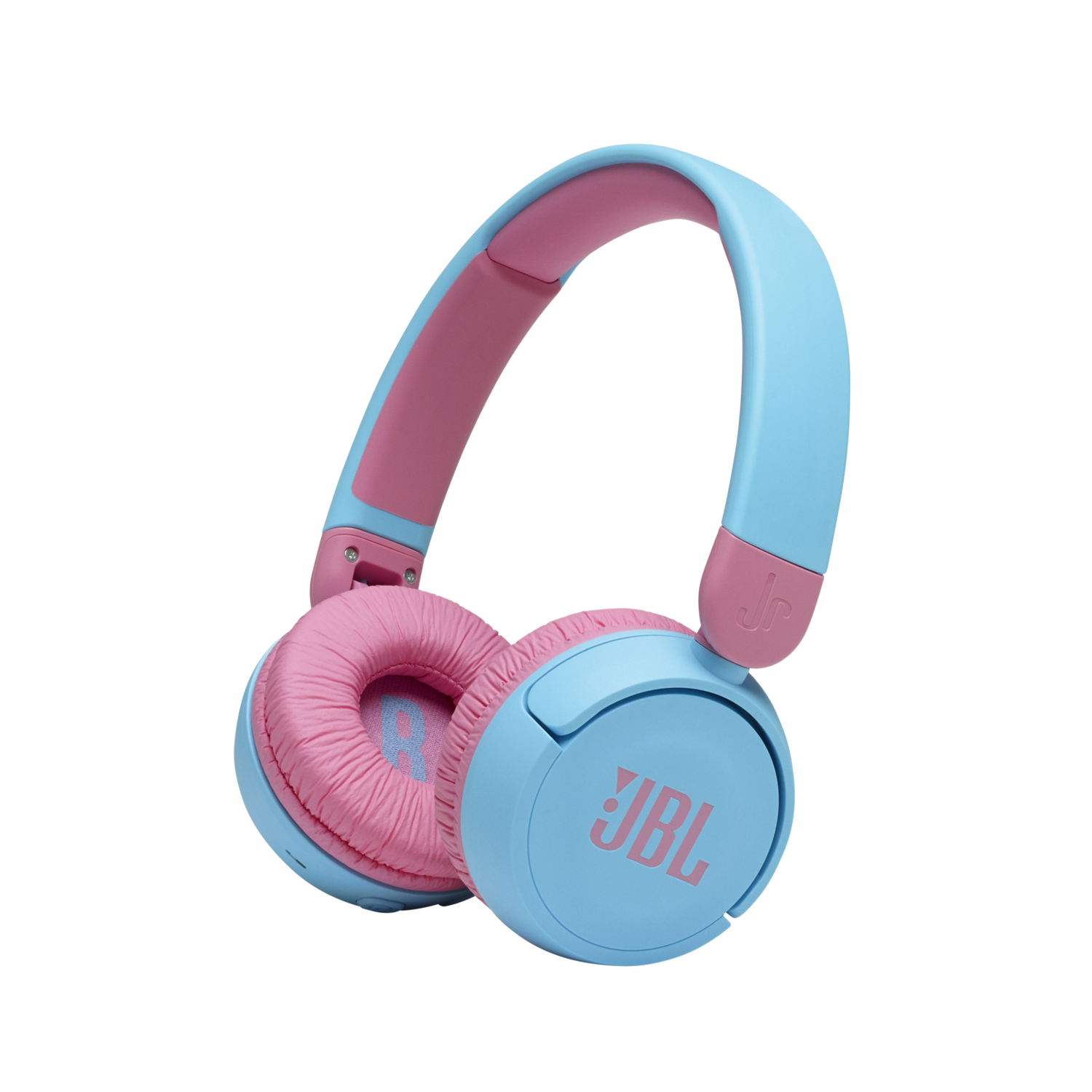 JBL Jr 310BT - Children's over-ear headphones with Bluetooth and built-in microphone, in Blue