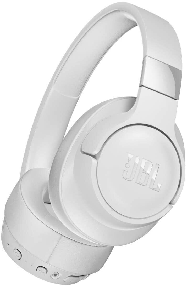 JBL TUNE 750BTNC - Wireless Over-Ear Headphones with Noise Cancellation - White