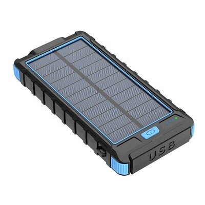 Kin Vale solar power bank 10000 mah (black)