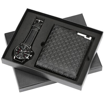 Men's Gift set exquisite packaging watch wallet set creative combination