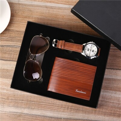 OEM accept watch wallet sunglasses gift set